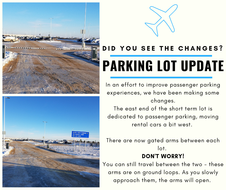 Parking Lot Updates